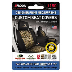 Coverking Designer Print Neosupreme Custom Seat Covers - $150 Gift Card