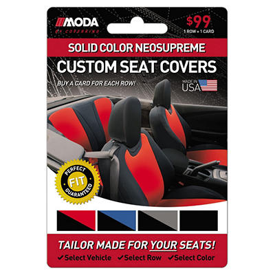 Coverking Solid Color Neosupreme Custom Seat Covers - $99