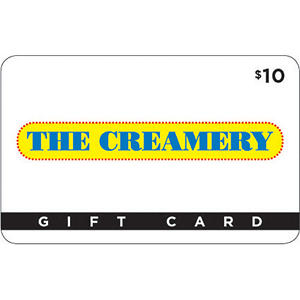 The Creamery Gift Card - 2/$15