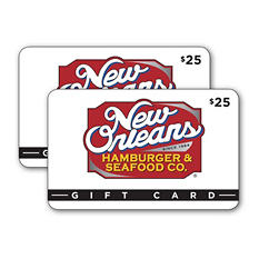 New Orleans Hamburger & Seafood Co. $50 Multi-Pack - 2/$25 for $39.98