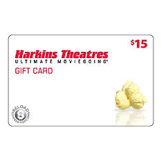 Harkins Theatres  $100 Gift Card - 5 /$20 for $79.98