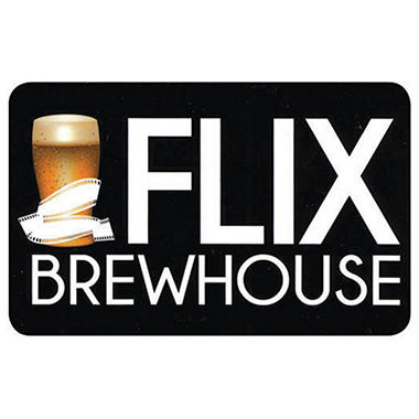 Flix Brewhouse $50 Gift Card - 5 x $10