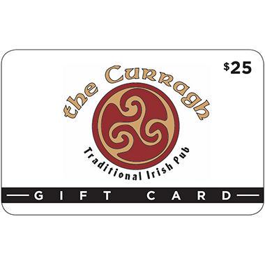 CURRAGH IRISH PUB $50 MP 2 X $25