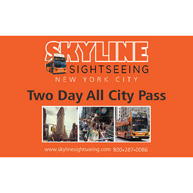 Skyline Sightseeing Two Day Pass