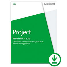 Microsoft Office Project Professional 2013 $1159.99 eGift Card (Email Delivery)