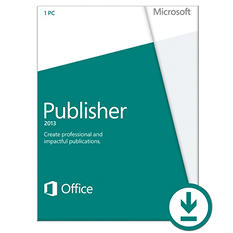 Microsoft Publisher 2013 $109.99 eGift Card (Email Delivery)