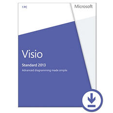 Microsoft Visio Standard 2013 $299.99 eGift Card (Email Delivery)