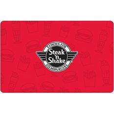 STEAK N SHAKE $25 E-GIFT CARD