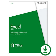 Microsoft Excel 2013 Non-Commercial $79.99 eGift Card (Email Delivery)
