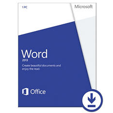 Microsoft Word 2013 Non-Commercial $79.99 eGift Card (Email Delivery)