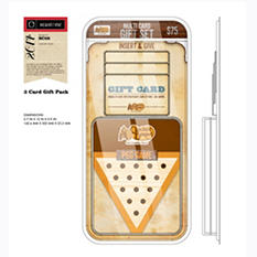Cracker Barrel $75 Multi-Pack with PEG Game - 3/$25 Gift Cards