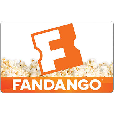 Fandango eGift Card - Various Amounts (Email Delivery)