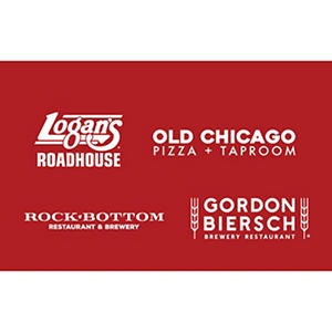Rock Bottom, Chophouse, Old Chicago & Walnut Brewery $100 Gift Card - 4/$25 for $79.98