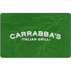 Carrabba's Italian Grill eGift Card - Various Amounts (Email Delivery)