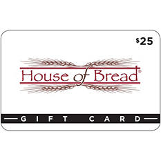 House of Bread, Victoria $50 Gift Card, 2/$25