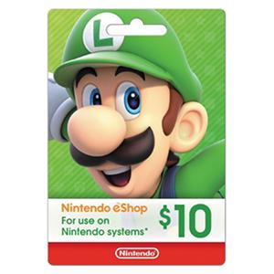 Nintendo eShop eGift Card - Various Amounts