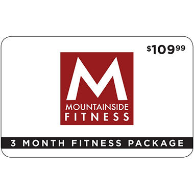 EV MOUNTAINSIDE FIT. 3 MONTH PACKAGE