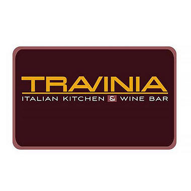 Travinia italian kitchen wine bar 50 gift card sam 39 s club for Italian kitchen gifts