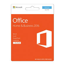 Microsoft Office Home & Business 2016, 1 PC