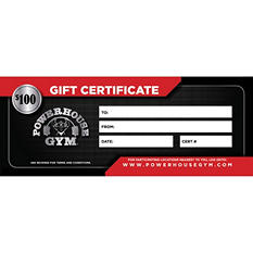 Powerhouse Gym $100 Gift Certificate for $74.98