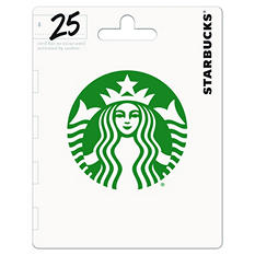Starbucks Gift Card - $25