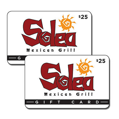 Solea Mexican Grill Gift Card - 2/$25
