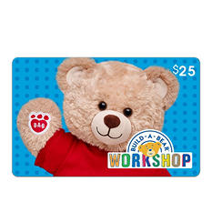Build a Bear eGift Card (Various Amounts)