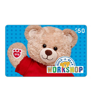 Build a Bear eGift Card (Various Amounts)