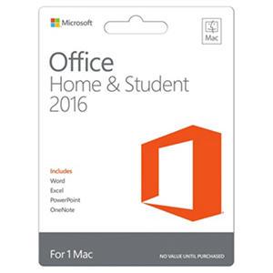 Microsoft Office Home & Student 2016 for Mac, 1 Mac