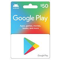 Google Play $50 Gift Card