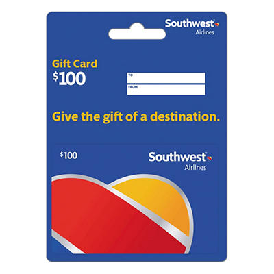 Southwest Airlines Gift Card - $100