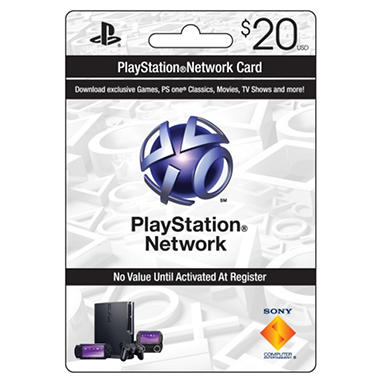 Sony Playstation Network Card - $20