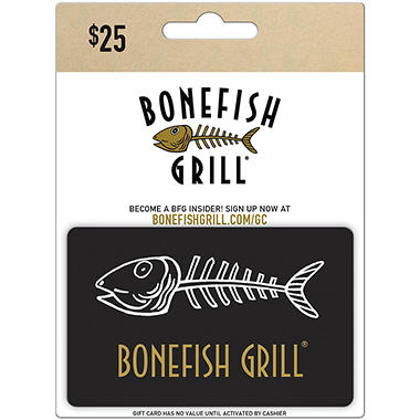 Check your bonefish grill gift card balance bonefish grill gift card 25 bonefish grill com gift card design. Pics of: Bonefish Grill Gift Cards Balance.