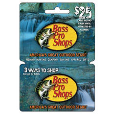 Bass Pro Shops Gift Card - $25