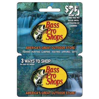 Basspro gift card - Anytime fitness iowa