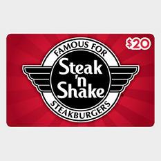 Steak 'n Shake Gift Card - $20