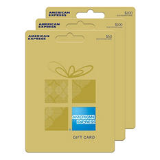 American Express Classic Gift Card - Various Amounts