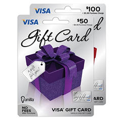 Vanilla Visa Gift Card - Various Amounts