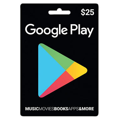Google Play Gift Card - $25