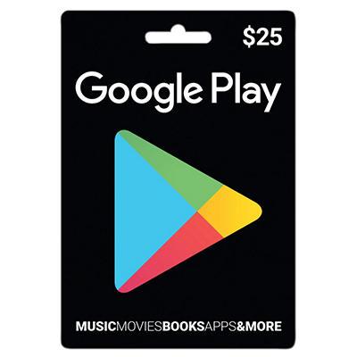 Google Play Gift Card - $25