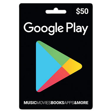 Google Play Gift Card - $50