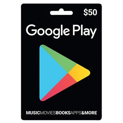 Google Play Gift Card - $50