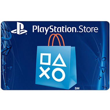 PlayStation Cash Code eGift Card - Various Amounts (Email Delivery)