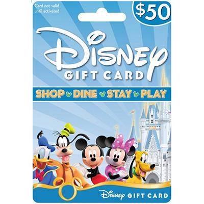 Disney Gift Card - $50