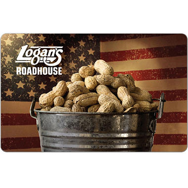 Logan's Roadhouse eGift Card - Various Amounts (Email Delivery)