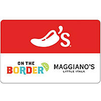 Chili's, Maggiano's, On The Border, and Macaroni Grill eGift Card  - Various Amounts (Email Delivery)