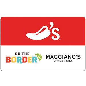 Chilis, Maggianos, On The Border, and Macaroni Grill eGift Card  - Various Amounts (Email Delivery)
