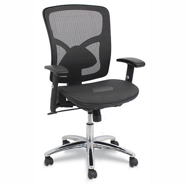Global - Professional Mesh Office Chair - Black