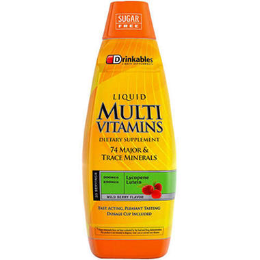 Drinkables� Multi Vitamins - 6 pk./33 oz.