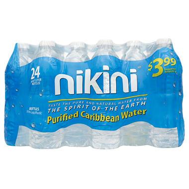 Nikini Purified Caribbean Water (16.9 fl. oz., 24 pk.)
